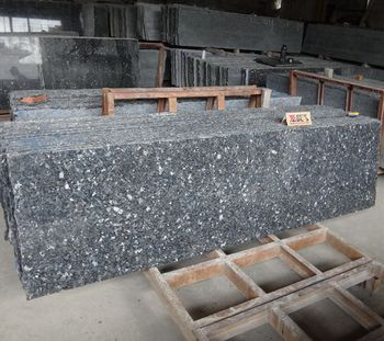 Good Price Polished Blue Pearl Granite Slabs In Desh