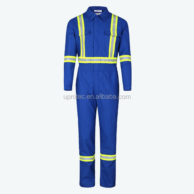Durable Nomex Flame Retardant Coverall For Petroleum Industry