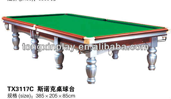 International standard billiard table Snooker table TX3117C