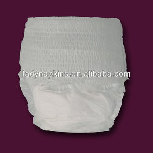 Private Label Disposable Soft And Dry Adult / Baby Diapers/ Period Panties Manufacturers