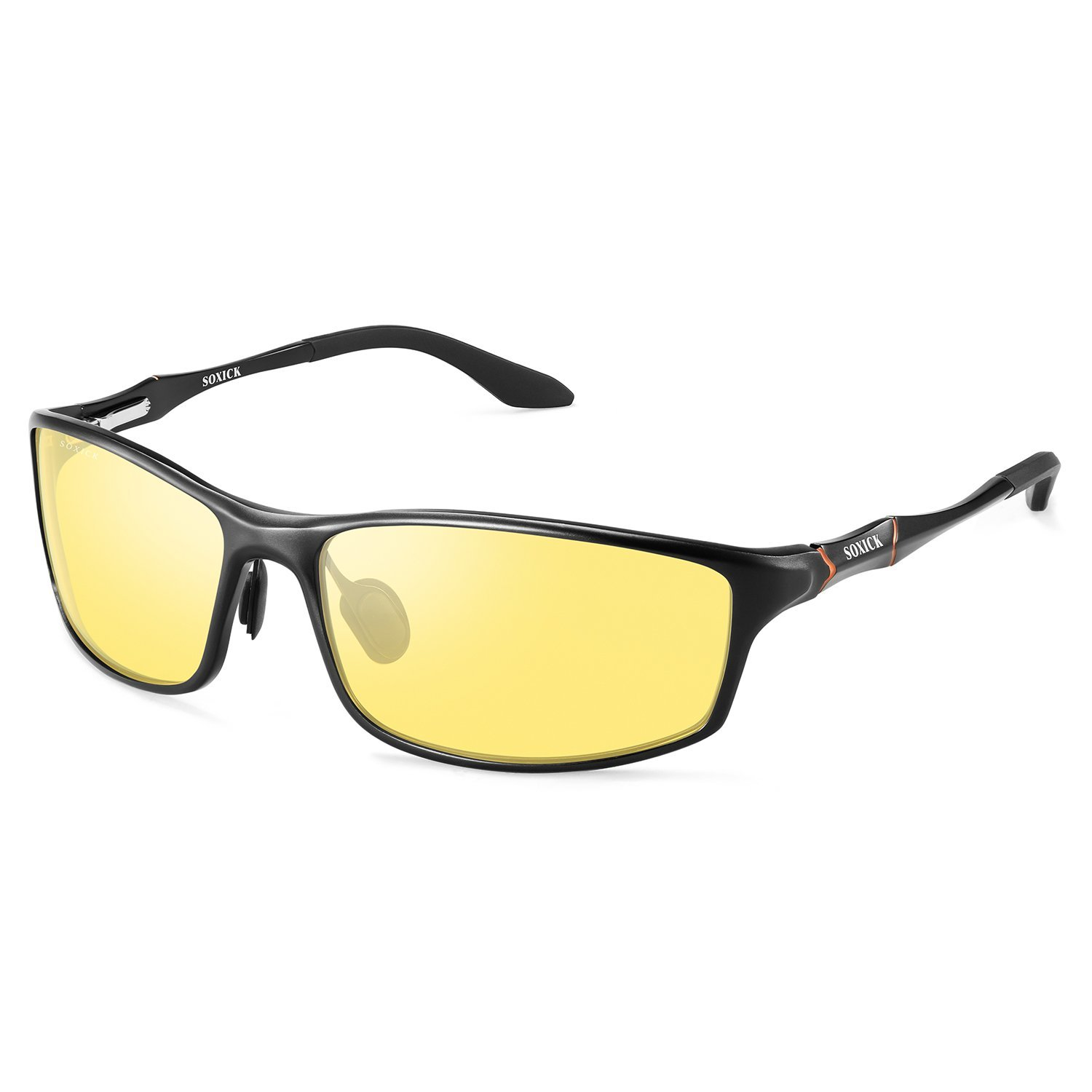 94fa741726fd Get Quotations · HD Night Driving Glasses Polarized Anti-glare Safety Night  Vision Glasses for Driving