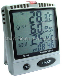 WBGT Monitor, Heat Index Monitor, Heat Stroke Prevention Meter AZ87796