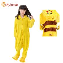 New Arrival Baby Girls Pajamas Autumn Winter Kids Flannel Animal Funny Cartoon Sleepwear For Baby Boys