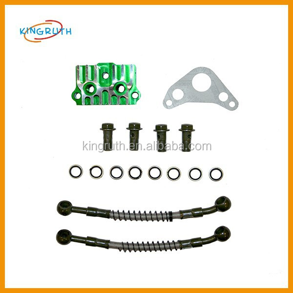 Pitbike yx140 oil cooler green take off plate and gasket, cw wpb m2r