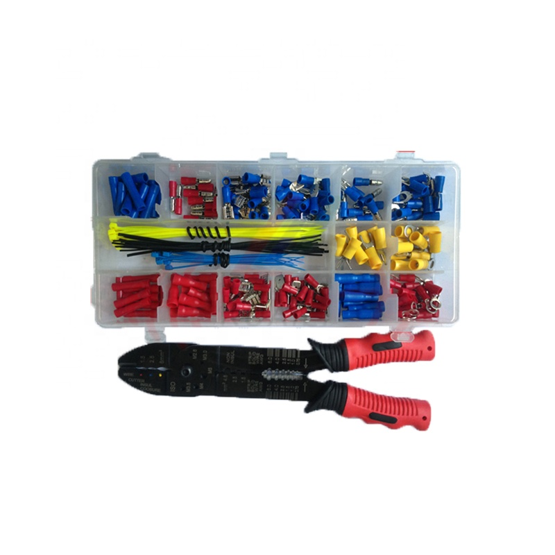 Fork Set Electrical Insulated Butt Spade Assorted Crimp Connector Terminals