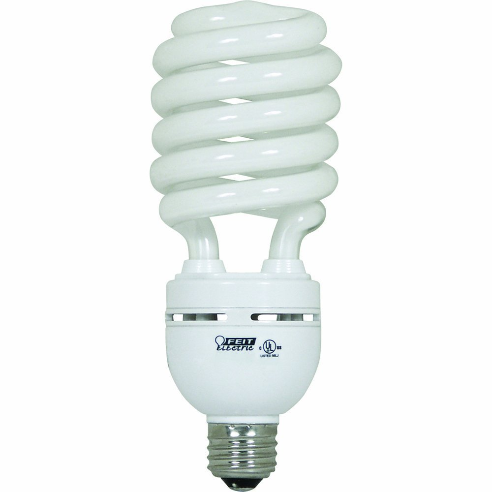 Feit Electric ESL40TN/D 40-Watt Compact Fluorescent High-Wattage Bulb, Daylight - 6 Pack
