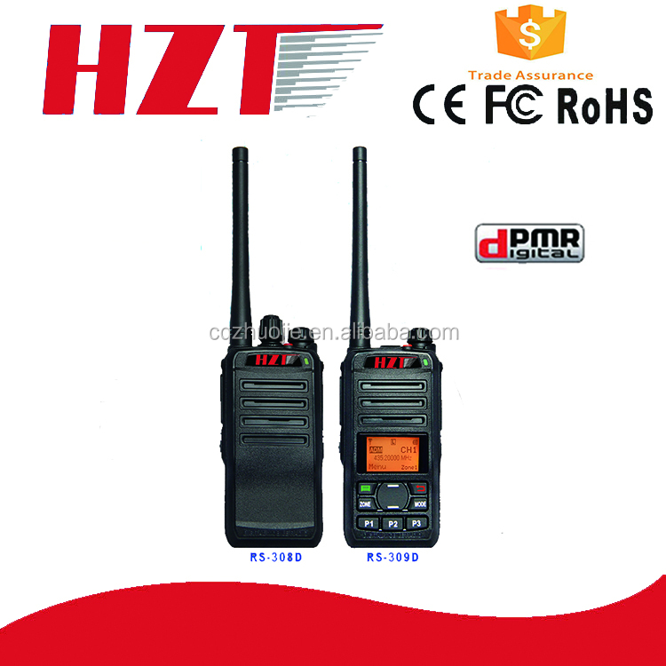 RS-307D/308D Industrial most cheapest 3W Two Way Radio Dpmr Walkie Talkie