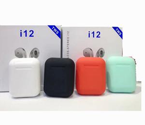 2019 I12 Tws Earphone True Wireless Headphone Earbuds For Smart Phones With Pop Up