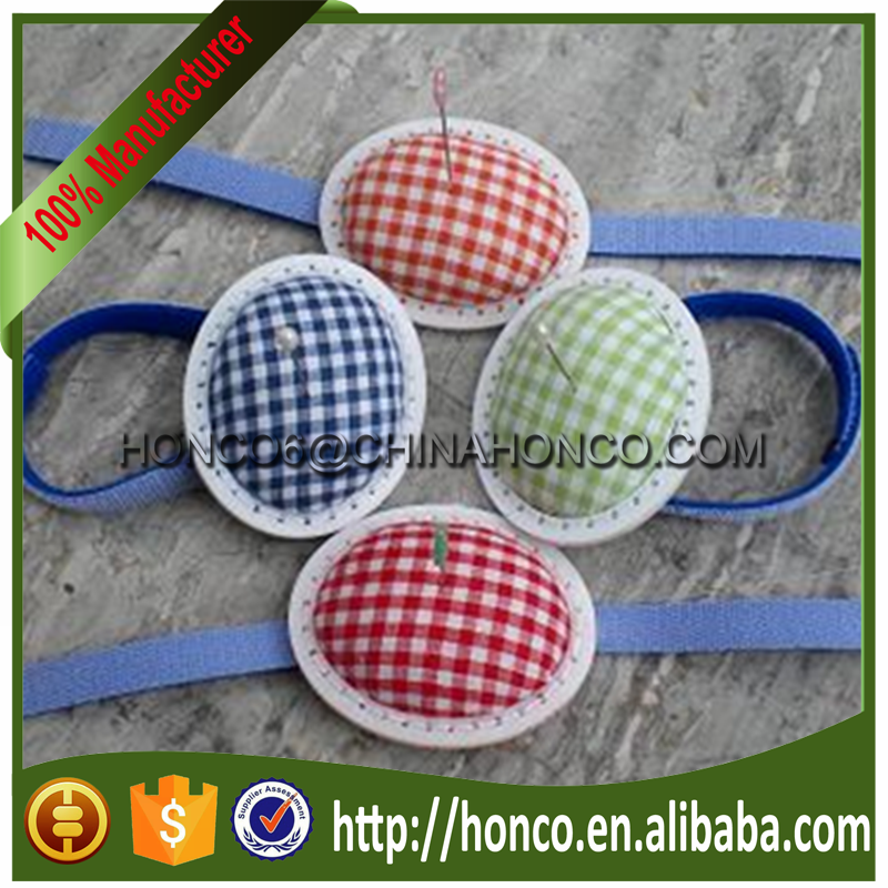 High quality sewing accessory type wrist pin cushion
