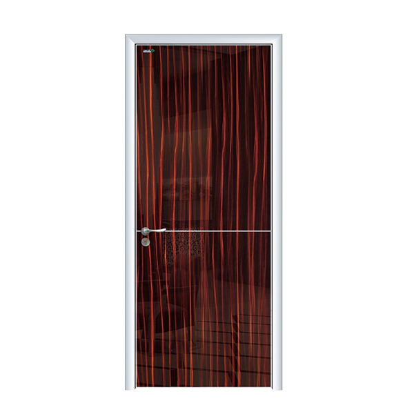 Insulated Entry Door Aluminium Frame Interior Door