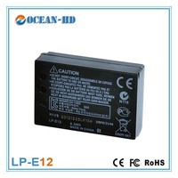 Ultra thin7.2v battery lithium ion cells LP-E12 for EOS Rebel SL1