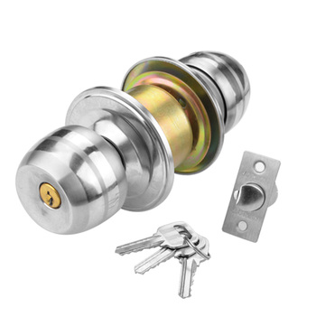 china supplier double sided washroom bathroom door lock knob with good quality - Bathroom Door Knobs