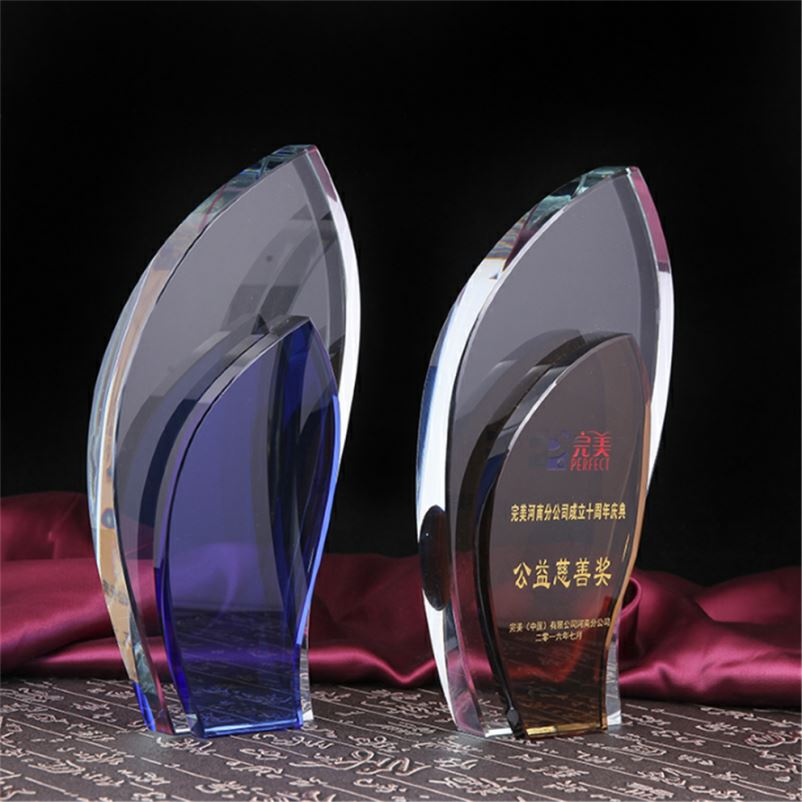 Hecho en China de acrílico negro Base trofeo