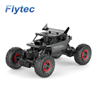 Flytec 9118 4WD Alloy RC Car Boat Drone Factory 1/18 Crawler Rock Car Toys Control Buggy Racing Car
