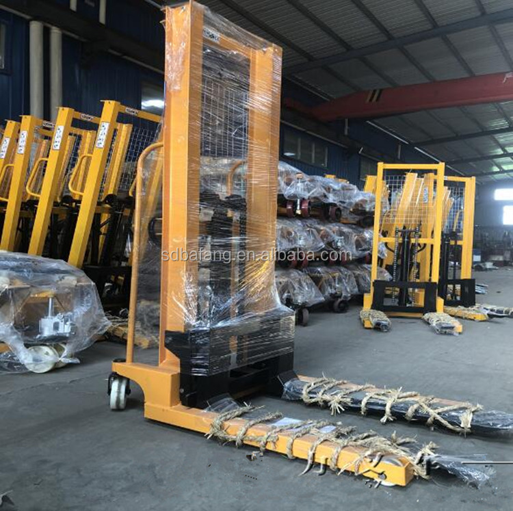 Manual pallet truck hydraulic forklift/Manual Pallet Stacker