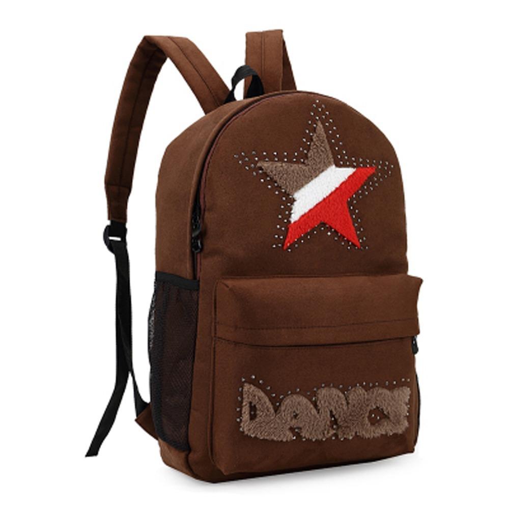 264d4154e397 Get Quotations · Free Shopping good bags school bags backpack mochila escolar  Vintage Canvas Backpack Rucksack school bag Satchel