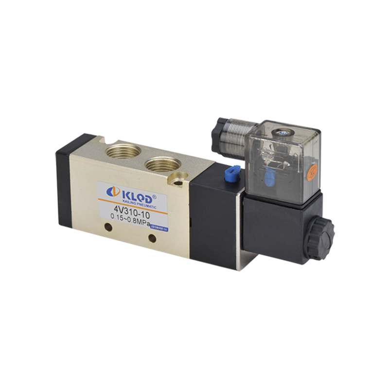 2 Position 5 Way Pneumatic Solenoid Valve 4V310-08