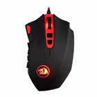 Redragon M901 PERDITION 24000 DPI Wired Mouse High Precision Programmable Buttons Laser Gaming Mouse