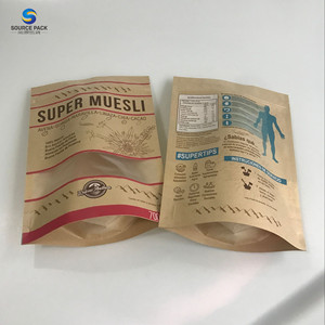 2019 China stand up pouch bags with zipper for powder food packaging