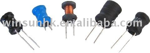 Vertical fixed inductor