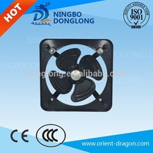 exhaust plastic fan blade for motor