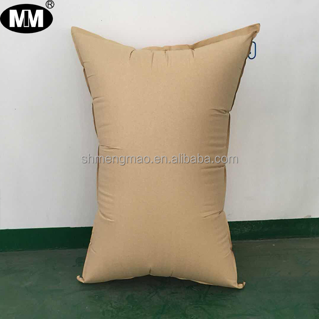 Cor marrom papel kraft dunnage air bag