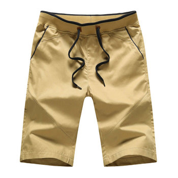 New navy mens 3/4 cargo shorts cotton cargo shorts for men cargo pant shorts
