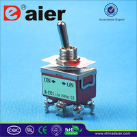 High Quality DPDTON-OFF-ON E-Ten Heavy Duty Toggle Switch (CE/TUV/QCQ)