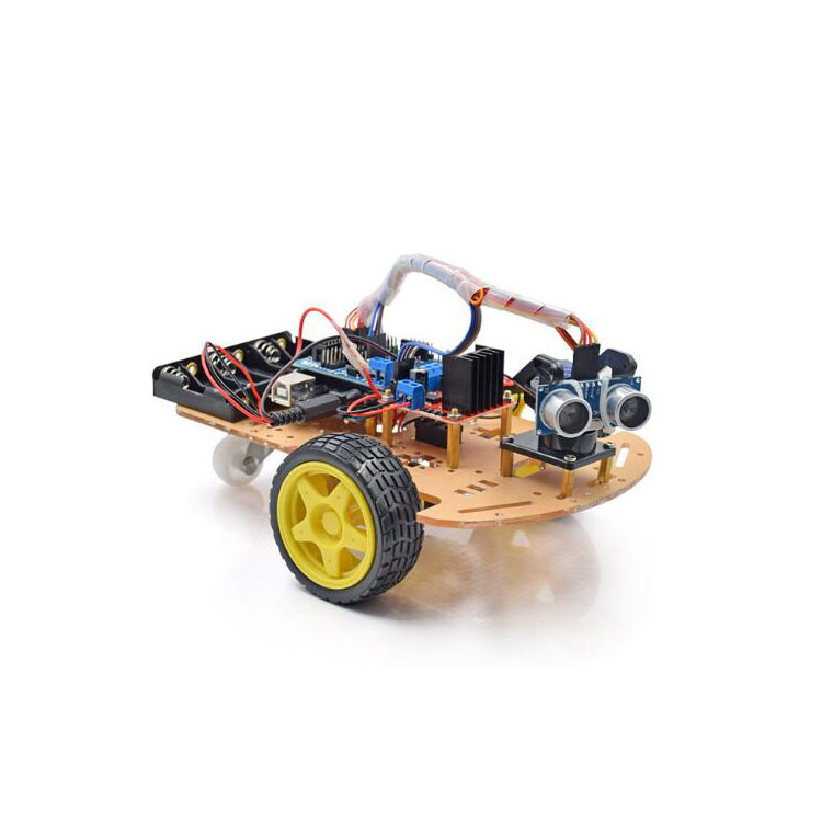 2019 vendita calda 2WD robot smart car Chassis Kit per Arduino con CD tutorial FAI DA TE Educativi di apprendimento