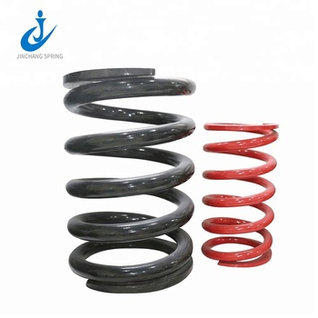Jinchang customized big truck heavy coil spring