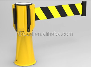 3 6m long Retractable Traffic Cone Tape Post