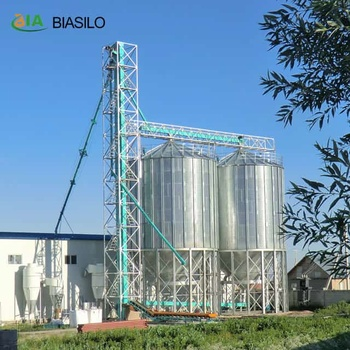 Grain Transportation Drag Chain Corn Conveyor Made In China With Hopper Bottom Silo