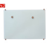 office using magnetic glass whiteboard 4mm thickness blue 100*100cm