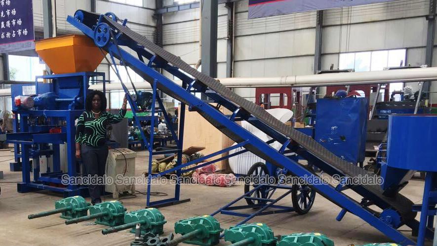 Low Cost Machinery Qt40 1 Pakistan Price Concrete Block