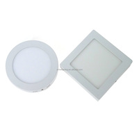 2016 HOT SALE!!! LED promotional items small mini square round led panel light 6w 12w 18w 24w surface