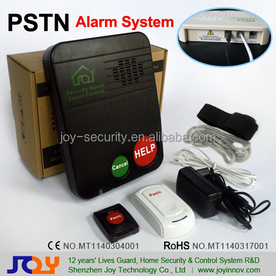Wired PSTN Landline Alarm for Home,Emergency Phone Dialers