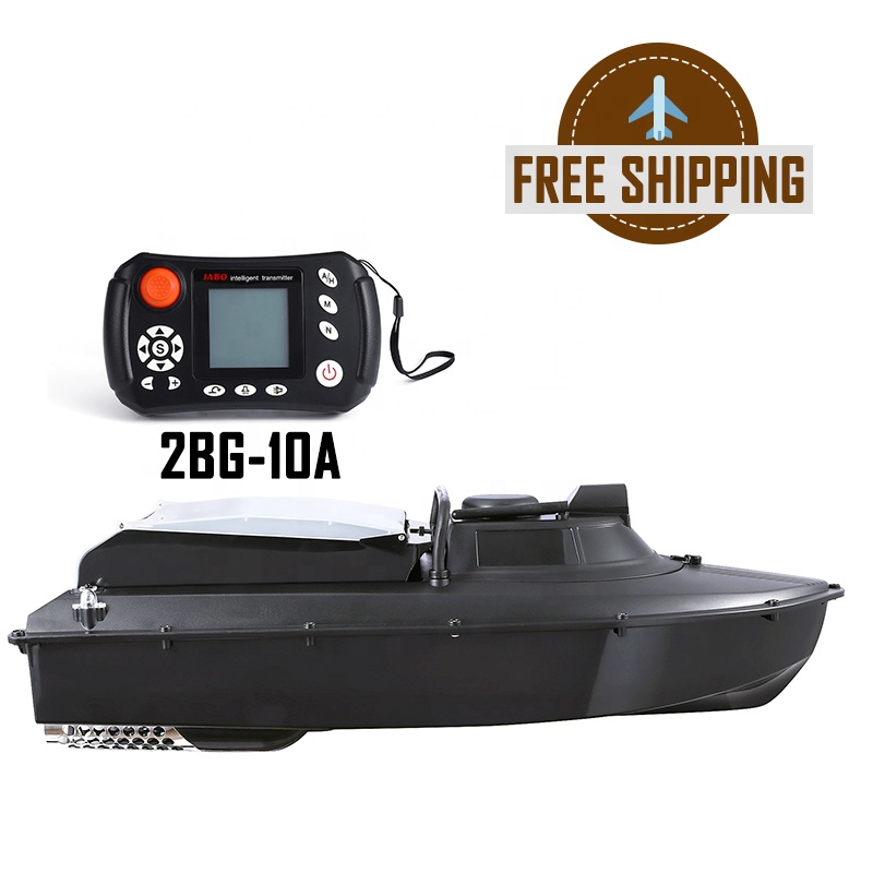 Europe Free Shipping JABO 2BG Fishing Bait Boat GPS Sonar Fish Finder Germany Warehouse Ready to Ship