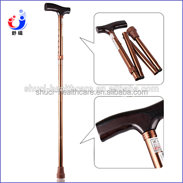 2016 high quality lower price Aluminum Walking Stick for old or disabled man