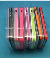 New arrival colorful pc+tpu bumper case for iphone5
