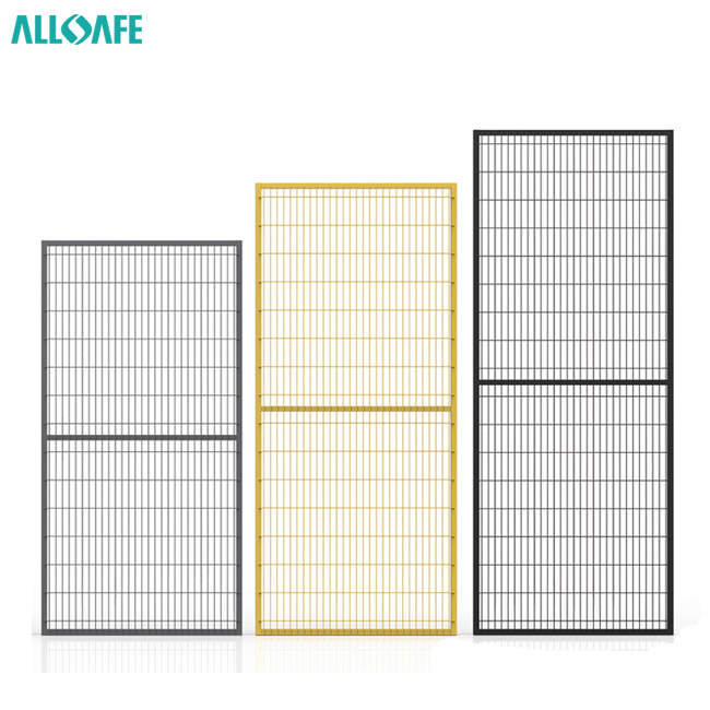 Industrial fence panel welded wire mesh panel