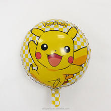 18 inch foil cartoon character balloon party decoration Pokemon Pikachu helium foil balloon