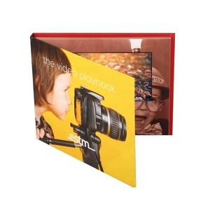 Customize Business Advertise Folder Lcd IPS HD Video Card Brochures 2.4/4.3/5.0/7.0/10.0/10.1inch Screen Video Brochures Cards