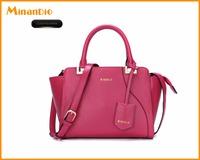 2017 China wholesalers top zipper design PU leather women shoulder bag slider handbag