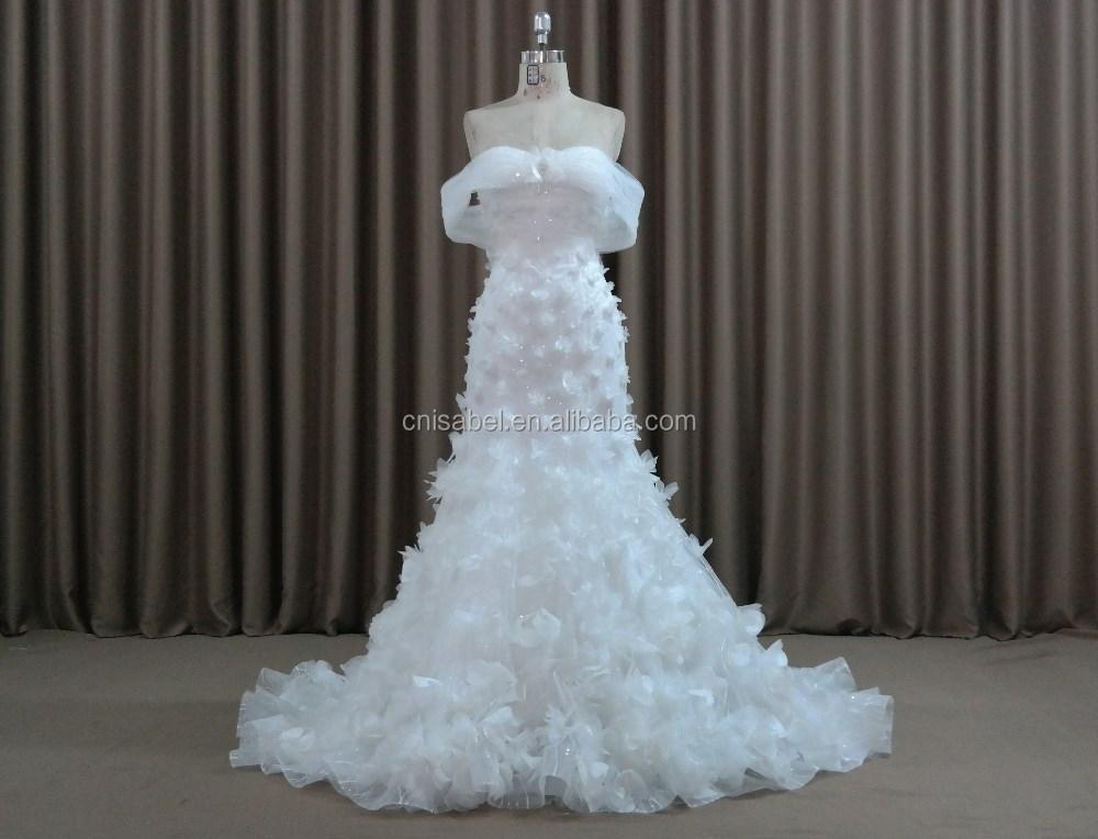 Al16123regular Straps Flower Girls Mermaid Wedding Dresses Modern ...