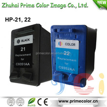 Remanufactured Ink Cartridge for HP C9351C 21 C9352C 22