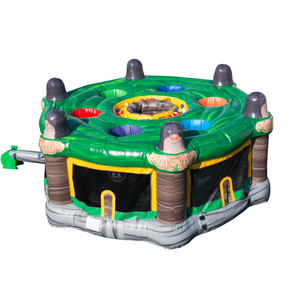 2018 New Design Inflatable Outdoor Game Adult Mole Removal Machine for Commercial
