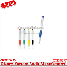 Disney Universal NBCU FAMA BSCI GSV Carrefour Factory Audit Manufacturer Cheap Ballpoint Pen Refill On A Rope