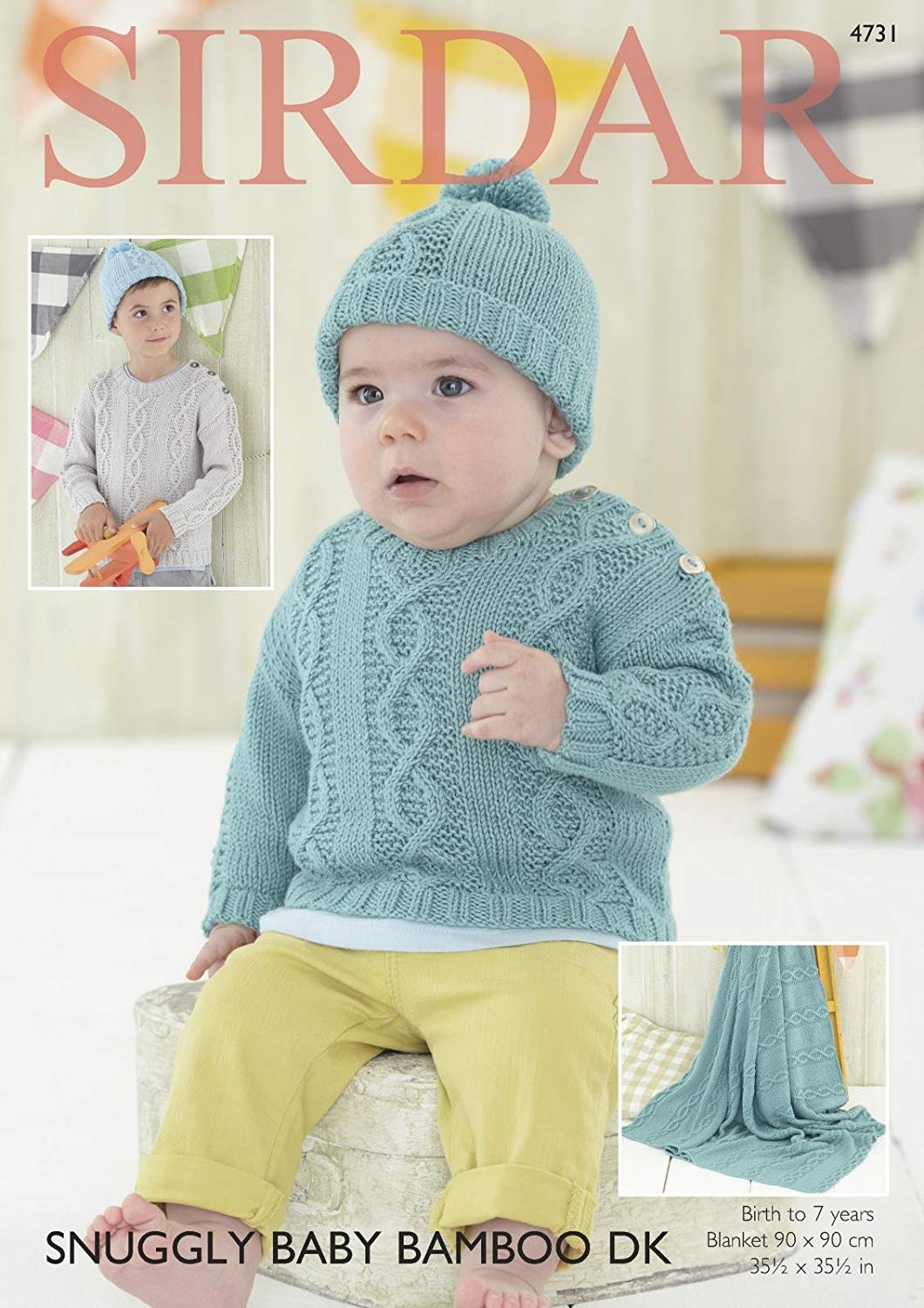 078d2c26e3c4fc Get Quotations · Sirdar Baby   Boys Sweater