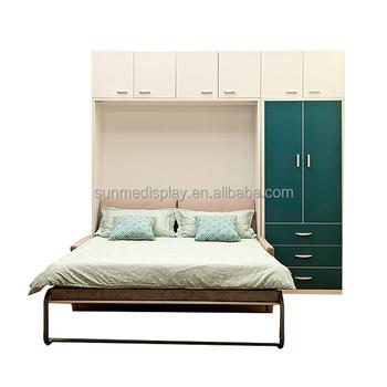 Innovation Lagerung Sofa Wand Bett Versteckte Bett Schrank Schrank