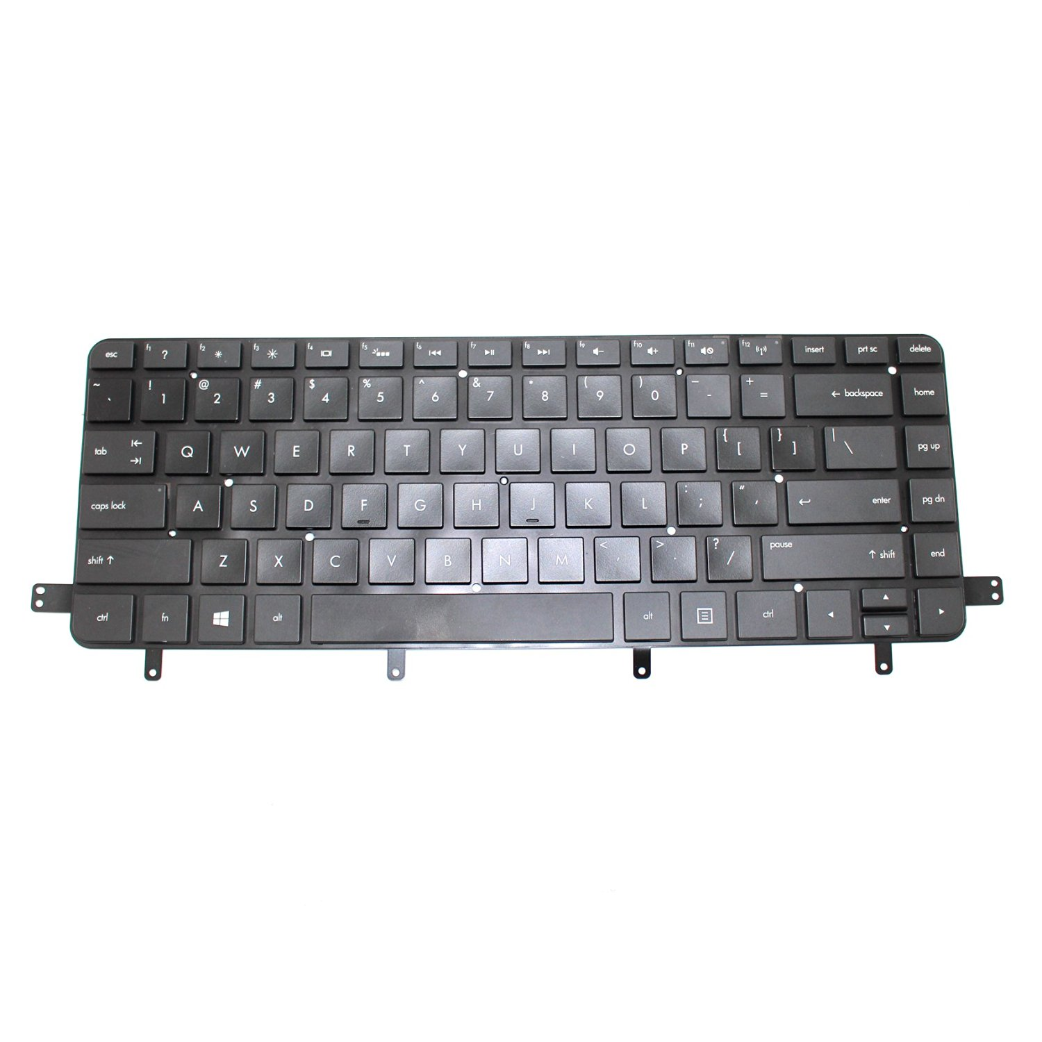 Generic New Black Laptop US Keyboard for HP Spectre XT TouchSmart Ultrabook 15t-4000 15-4000 15-4001xx 15-4010nr 15-4011nr 15-4013cl Series Replacement Part Number MP-11L23A0J698 PK130Q51A03